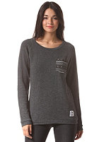 IRIEDAILY Womens Ethno Pocket Crew Sweat black mel.