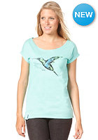 IRIEDAILY Womens Fine Feathers S/S T-Shirt mint
