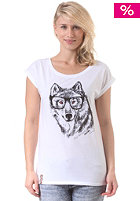 Womens IQ Bestie S/S T-Shirt white