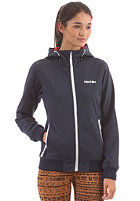 IRIEDAILY Womens Jersey Girl Jacket navy mel.
