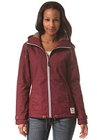 IRIEDAILY Womens Kishory 5.0 Windbreaker Jacket maroon