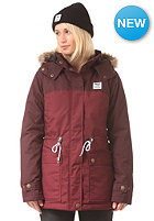 IRIEDAILY Womens Koerte Jacket maroon