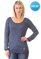 IRIEDAILY Womens Laissez Fair Knit Sweat night sky