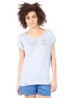 IRIEDAILY Womens Lovetree S/S T-Shirt light blue mel.