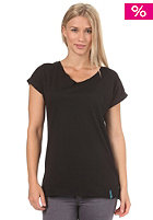 IRIEDAILY Womens Oversized S/S T-Shirt black