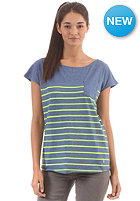 IRIEDAILY Womens Seefrau Pocket S/S T-Shirt steel mel.