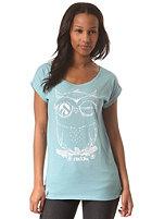 IRIEDAILY Womens Skateowl 2 S/S T-Shirt beryl mel