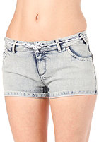 IRIEDAILY Womens Skinny Denim Short bleach wash