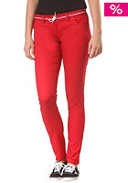 IRIEDAILY Womens Skinny Flex Pant dark red