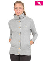IRIEDAILY Womens Snugly Button Tracktop Jacket grey-mel.