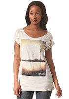 IRIEDAILY Womens Suncity S/S T-Shirt ecru mel.