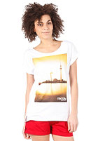 IRIEDAILY Womens Suncity S/S T-Shirt white