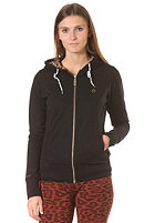 IRIEDAILY Womens Wildkatzen Hooded Zip Sweat black