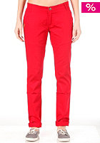 IRIEDAILY Womens Your 24 Flex Chino Pant dark red