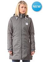IRIEDAILY Womens Youriko Mel Coat Jacket anthra mel.