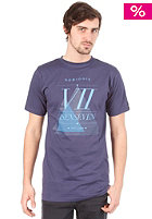 ISENSEVEN No Biggie S/S T-Shirt navy