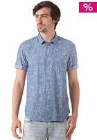 JACK & JONES VINTAGE CLOTHING Alameda One S/S Shirt chambray blue
