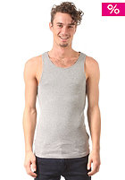 JACK & JONES VINTAGE CLOTHING Atlanta Rib Tank Top light grey melange