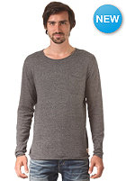 JACK & JONES VINTAGE CLOTHING Attend Crew Neck Knit Sweat dark grey melange