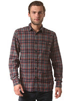 JACK & JONES VINTAGE CLOTHING Barstow One Pocket L/S Shirt madder brown