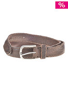 JACK & JONES VINTAGE CLOTHING Fear Belt major brown/antique silver