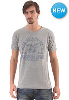 JACK & JONES VINTAGE CLOTHING Indigo Blues S/S T-Shirt light grey melange