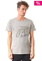 JACK & JONES VINTAGE CLOTHING Lajolla S/S T-Shirt light grey melange