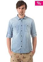JACK & JONES VINTAGE CLOTHING Lakeport Worker L/S Shirt light blue denim