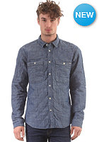 JACK & JONES VINTAGE CLOTHING Mineworker Billy L/S Shirt medium blue denim
