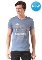 JACK & JONES VINTAGE CLOTHING Motor Crew Neck S/S T-Shirt moonlight blue