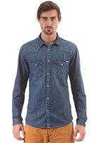 JACK & JONES VINTAGE CLOTHING Oakland Western Denim L/S Shirt dark blue denim