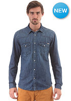 JACK & JONES VINTAGE CLOTHING Oakland Western Denim L/S Shirt dark blue denim