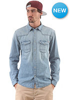 JACK & JONES VINTAGE CLOTHING Oakland Western Denim L/S Shirt light blue denim