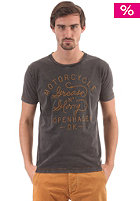 JACK & JONES VINTAGE CLOTHING Power S/S T-Shirt pirate black