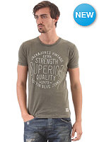 JACK & JONES VINTAGE CLOTHING Power S/S T-Shirt vineyard green