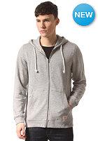 JACK & JONES VINTAGE CLOTHING Recycle Hooded Zip Sweat light grey melange