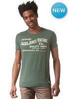 JACK & JONES VINTAGE CLOTHING Rugged S/S T-Shirt trekking green