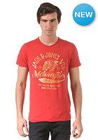 JACK & JONES VINTAGE CLOTHING Vintage Rider Crew Neck S/S T-Shirt baked apple