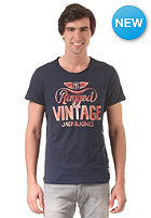 JACK & JONES VINTAGE CLOTHING Vintage Rider Crew Neck S/S T-Shirt dress blues