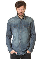 JACK & JONES VINTAGE CLOTHING Western Beaverton 789 L/S Shirt medium blue denim