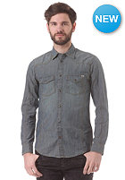 JACK & JONES VINTAGE CLOTHING Western Beaverton 789 L/S Shirt medium grey denim