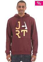 JART Basic Hooded Sweat oxblood