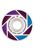 JART  Logo Rollen  Blade  Satz 51 mm purple/burgundy