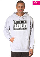 JSLV Explicit Hooded Sweat athletic heather