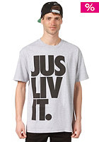 JSLV Liv it S/S T-Shirt athleticheather