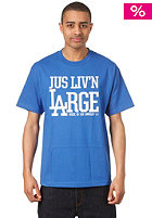 JSLV Living Large Palms S/S T-Shirt royal