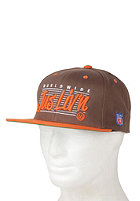 JSLV Worldwide Liv n Snapback Cap brown