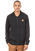 K1X Crest Knit College Jacket navy/brown patina
