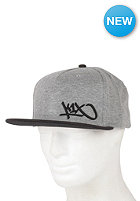 K1X Junior Tag Snapback Cap dark grey heather/black