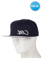 K1X Junior Tag Snapback Cap navy/egret